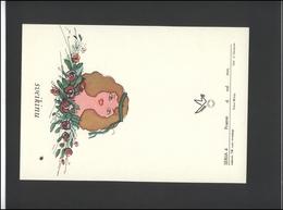 LITHUANIA LSSR Telegram Sheet LTSR 004 International Women Day Roses - Lituania