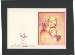 LITHUANIA LSSR Telegram Sheet LTSR 006 Mother's Day - Lituania