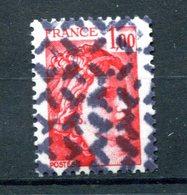 Variété Sabine De Becquet - Yvert 1972 - Annulation Rebus - T 806 - 1977-81 Sabine Of Gandon