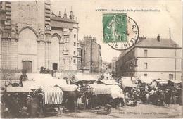 Dépt 44 - NANTES - Le Marché De La Place Saint-Similien - Héliotypie Dugas Et Cie, Nantes, N° 289 - Nantes