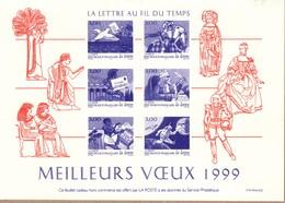 FRANCE GRAVURE VOEUX DE LA POSTE 1999 - Sonstige