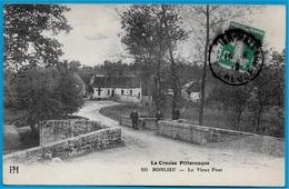 CPA 23 La Creuse Pittoresque BONLIEU - Le Vieux Pont - Francia
