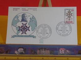 Accueil Huguenots - 30 Anduze - 31.8.1985 FDC 1er Jour N°1435 - Coté 3€ - FDC