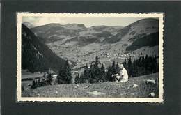 VILLAGE DE CHATEL (haute Savoie) -vallée D'Abondance En 1950 (photo Format 11,2cm X 6,9cm). - Lieux