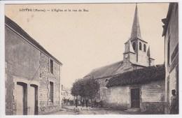 51 LOIVRE L'église Et La Rue De Bac - France