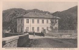 MADDALENA DI GIAVENO - SCUOLE ELEMENTARI - CAMPEGGIO O.N.B. - Education, Schools And Universities