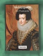 CP50 BLOC De CARTES POSTALES Complet 30 Cartes Velazquez   Format 16 X 11 Cm Env - Peintures & Tableaux