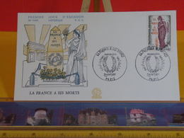 La France à Ses Morts - Paris - 2.11.1985 FDC 1er Jour N°1446 - Coté 2€ - FDC