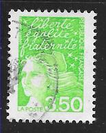 FRANCE 3092 Marianne Du 14 Juillet 3.50 F Vert Jaune . - Frankreich