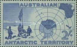 USED STAMPS - Australian-Antarctic - Expedition At Vestfold Hills-1957 - 1952-65 Elizabeth II : Pre-Decimals
