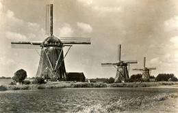 Leidschendam, Windmills, Bovenkruiers, Real Photo - Watermolens