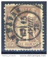 D - [DEL-314-15]N° 85 Obl Le Havre TB - 1876-1898 Sage (Type II)