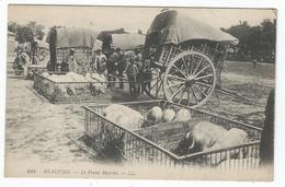 BEAUVAIS (60) - Le Franc-Marché   -  (beau Plan Avec Cochons) - Beauvais