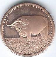 Somalia - Somali Republic - 2013 - 5 Shillings - Water Buffalo - Somalia