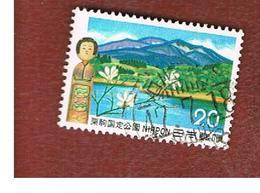 GIAPPONE  (JAPAN) - SG 1294  -   1972  MOUNT KURIKAMA - USED° - 1926-89 Imperatore Hirohito (Periodo Showa)
