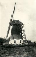 Voorschoten, Windmill, Papenwegsche Polder, Real Photo - Watermolens