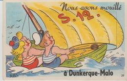 """59 .DUNKERQUE MALO """" .nous Avons Mouille. """"  ) - A Systèmes"""