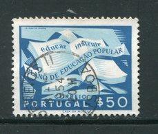 PORTUGAL- Y&T N°807- Oblitéré - 1910-... République