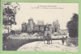 VITRE : Le Château Route De Rennes, TTBE, Comme Neuve. 2 Scans. Edition Waron - Vitre