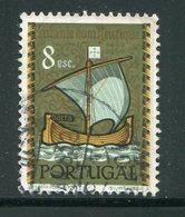 PORTUGAL- Y&T N°877- Oblitéré (bateau) - 1910-... République