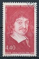 France - René Descartes YT 2995 Obl. - France