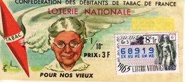 France - 193 - Confédération Des Débitants De Tabac De France - 8 ème Tranche 1965 - Lottery Tickets