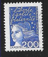 FRANCE 3090 Marianne Du 14 Juillet 2.00 F Bleu . - France