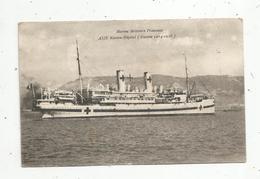 Cp , Bateau MARINE MILITAIRE FRANÇAISE ,ASIE Navire Hôpital, Guerre 1914-1918 ,vierge, Ed.Bar - Guerre