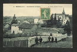 38 - MOIDIEU - Vue Générale Et L'Église - Autres Communes