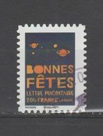 """FRANCE / 2008 / Y&T N° 4308 Ou AA 239  : """"Bonnes Fêtes"""" (Planètes) - Choisi - Cachet Rond - Adhésifs (autocollants)"""