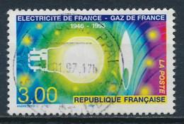 France - 50 Ans D'EDF-GDF YT 2996 Obl. - France