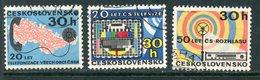 Y85 CZECHOSLOVAKIA 1973 2138-2140 Communications, Broadcasting And Television Of Czechoslovakia - Tchécoslovaquie