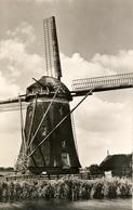 Leidschendam,  Windmill, Bovenkruier, Real Photo - Watermolens