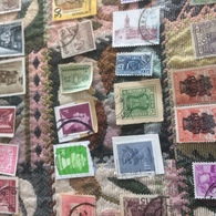 INDIA STATUE VERDE - Timbres