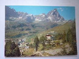 """Cartolina Viaggiata  """"CERVINIA  Panorama""""  1979 - Italia"""
