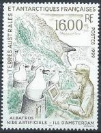 TAAF 1999 N° 243 Neuf Nids Artificiels Pour Albatros - Terres Australes Et Antarctiques Françaises (TAAF)