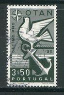 PORTUGAL- Y&T N°860- Oblitéré (oiseaux) - 1910-... République