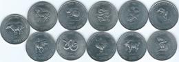 Somalia - 10 Shillings - 2000 - Rat, Tiger, Rooster, Dog, Monkey, Goat, Horse, Ox, Dragon, Snake & Rabbit (KMs90-100) - Somalia