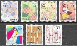 Japon - Journée De La Lettre - Série Complète - Oblitérés - Lot 699 - 1989-... Empereur Akihito (Ere Heisei)