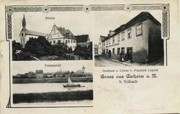 7805 - Allemagne / Germany - ASTHEIM  : Village Et Gasthaus  Löwen Y.Friedrich Leipold + Cachet Lager Hammelburg - 1915 - Duitsland