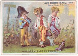 Chromo - Aux Dames Françaises - Delphine Bonnechère, Cambrai - Dans Les Vignes Du Seigneur - Autres