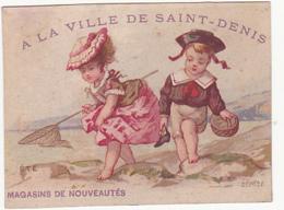 Chromo - A La Ville De Saint Denis - Autres