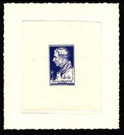 FRANCE - N° 793 - LOUIS BRAILLE - EPREUVE D'ARTISTE EN BLEUE SIGNEE RAOUL SERRES. - Epreuves D'artistes