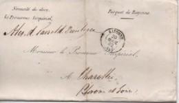 //LETTRE DE BAYONNE  20/04/92 POUR CHAROLLES - Marcophilie (Lettres)