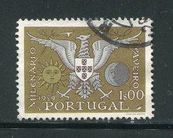PORTUGAL- Y&T N°857- Oblitéré - 1910-... République