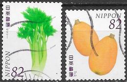 Japon - Fruits & Légumes IV - Y&T N° 7159 - Oblitéré - 1989-... Empereur Akihito (Ere Heisei)