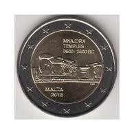 """Moneda 2€ 2018 Malta """"Templos"""" - Malta"""