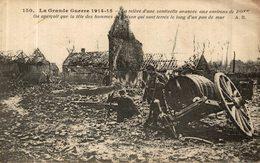 RELEVE D'UNE SENTINELLE AVANCEE AUX ENVIRONS DE ROYE - Guerre 1914-18