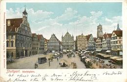 ALLEMAGNE - STUTTGART - Marktplatz - Stuttgart