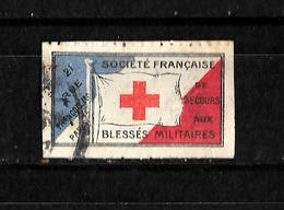 Francia Viñeta De La Sociedad Francesa De Socorro A Los Heridos De Guerra Usado - Commemorative Labels